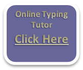 typing and keyboarding tutor